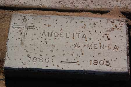 ARMENTA, ANGELITA - Yuma County, Arizona | ANGELITA ARMENTA - Arizona Gravestone Photos