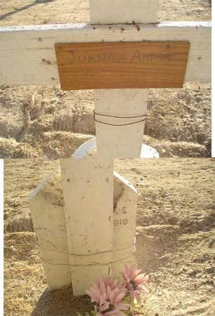 ARMENTA, JUANNA - Yuma County, Arizona | JUANNA ARMENTA - Arizona Gravestone Photos