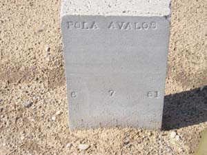 AVALOS, POLA - Yuma County, Arizona | POLA AVALOS - Arizona Gravestone Photos