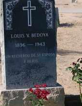 BEDOYA, LOUIS V. - Yuma County, Arizona | LOUIS V. BEDOYA - Arizona Gravestone Photos
