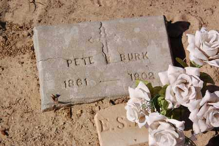 BURKE, PETER FREDERICK - Yuma County, Arizona | PETER FREDERICK BURKE - Arizona Gravestone Photos