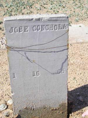 CONCHOLA, JOSE - Yuma County, Arizona | JOSE CONCHOLA - Arizona Gravestone Photos