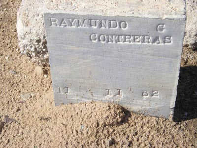 CONTRERAS, RAYMUNDO G - Yuma County, Arizona   RAYMUNDO G CONTRERAS - Arizona Gravestone Photos