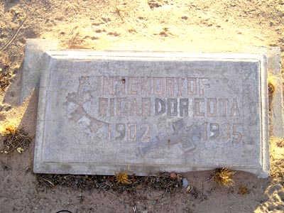 COTA, RICARDO R - Yuma County, Arizona   RICARDO R COTA - Arizona Gravestone Photos