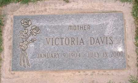 DAVIS, VICTORIA - Yuma County, Arizona | VICTORIA DAVIS - Arizona Gravestone Photos
