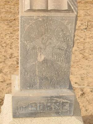DECORSE, ALBERT E. - Yuma County, Arizona | ALBERT E. DECORSE - Arizona Gravestone Photos