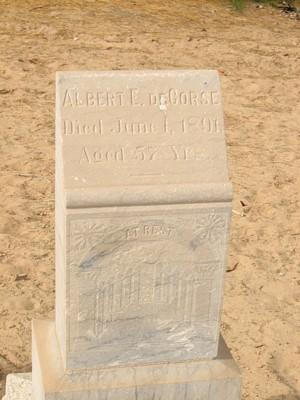 DECORSE, ALBERT E. - Yuma County, Arizona | ALBERT E. DECORSE - Arizona Gravestone Photos
