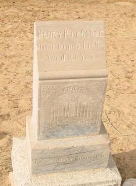 DECORSE, HENRY P. - Yuma County, Arizona | HENRY P. DECORSE - Arizona Gravestone Photos