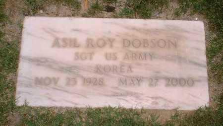 DOBSON, ASIL ROY - Yuma County, Arizona | ASIL ROY DOBSON - Arizona Gravestone Photos