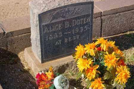 DOTEN, ALICE JEANNIE - Yuma County, Arizona | ALICE JEANNIE DOTEN - Arizona Gravestone Photos