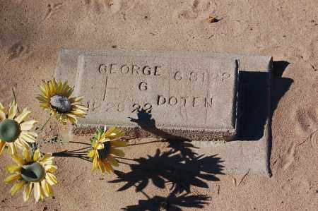 DOTEN, GEORGE - Yuma County, Arizona | GEORGE DOTEN - Arizona Gravestone Photos