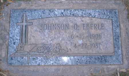 EBERLE, JOHNSON O. - Yuma County, Arizona | JOHNSON O. EBERLE - Arizona Gravestone Photos