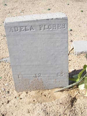 FLORES, ADELA - Yuma County, Arizona | ADELA FLORES - Arizona Gravestone Photos