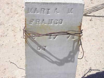FRANCO, MARIA M. - Yuma County, Arizona | MARIA M. FRANCO - Arizona Gravestone Photos