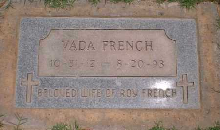 FRENCH, VADA - Yuma County, Arizona | VADA FRENCH - Arizona Gravestone Photos