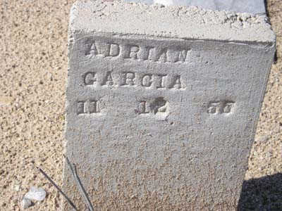 GARCIA, ANDRIAN - Yuma County, Arizona   ANDRIAN GARCIA - Arizona Gravestone Photos