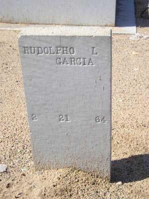 GARCIA, RUDOLPHO L - Yuma County, Arizona | RUDOLPHO L GARCIA - Arizona Gravestone Photos