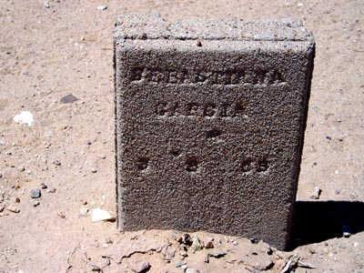 GARCIA, SEBASTIANA - Yuma County, Arizona | SEBASTIANA GARCIA - Arizona Gravestone Photos