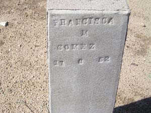 GOMEZ, FRANCISCA M - Yuma County, Arizona | FRANCISCA M GOMEZ - Arizona Gravestone Photos