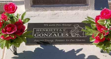 GONZALES, HENRIETTA - Yuma County, Arizona | HENRIETTA GONZALES - Arizona Gravestone Photos