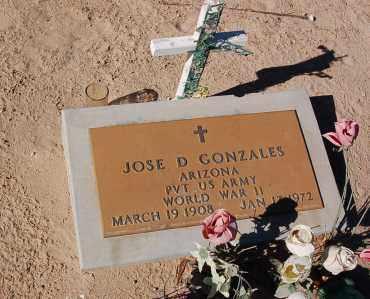 GONZALES, JOSE - Yuma County, Arizona | JOSE GONZALES - Arizona Gravestone Photos