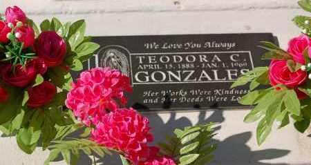 GONZALES, TEODORA - Yuma County, Arizona | TEODORA GONZALES - Arizona Gravestone Photos