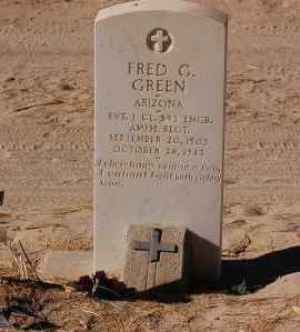 GREEN, FRED - Yuma County, Arizona | FRED GREEN - Arizona Gravestone Photos