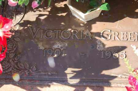 GREEN, VICTORIA - Yuma County, Arizona | VICTORIA GREEN - Arizona Gravestone Photos