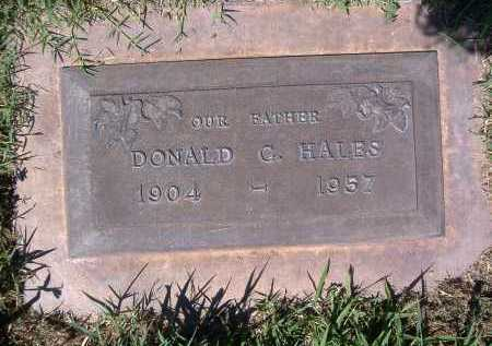 HALES, DONALD C. - Yuma County, Arizona | DONALD C. HALES - Arizona Gravestone Photos