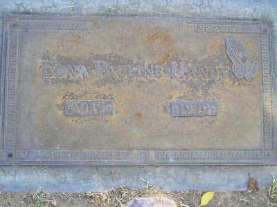 HANDY, EDNA PAULINE - Yuma County, Arizona | EDNA PAULINE HANDY - Arizona Gravestone Photos