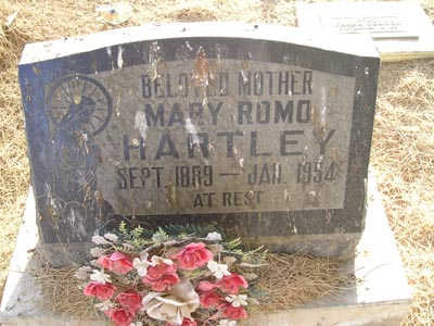 HARTLEY, MARY ROMO - Yuma County, Arizona | MARY ROMO HARTLEY - Arizona Gravestone Photos
