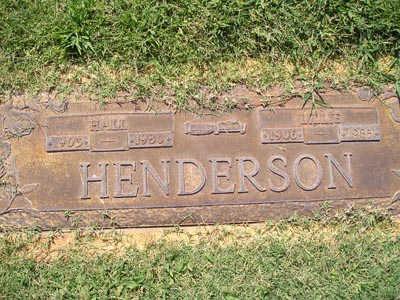 HENDERSON, LILLIE - Yuma County, Arizona | LILLIE HENDERSON - Arizona Gravestone Photos