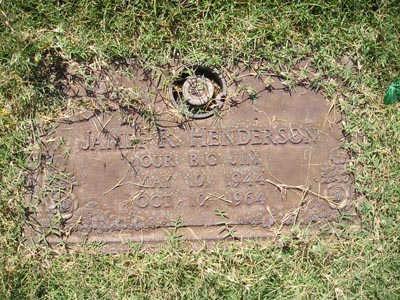 HENDERSON, JAMES R - Yuma County, Arizona | JAMES R HENDERSON - Arizona Gravestone Photos