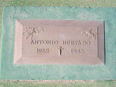 HURTADO, ANTONIO - Yuma County, Arizona | ANTONIO HURTADO - Arizona Gravestone Photos