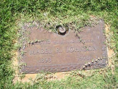 JOHNSON, MABEL R - Yuma County, Arizona | MABEL R JOHNSON - Arizona Gravestone Photos
