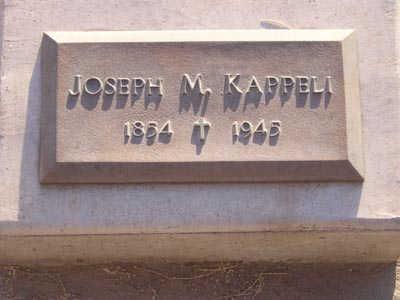 KAPPELI, JOSEPH M - Yuma County, Arizona | JOSEPH M KAPPELI - Arizona Gravestone Photos