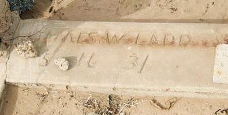 LADD, JAMES W. - Yuma County, Arizona | JAMES W. LADD - Arizona Gravestone Photos