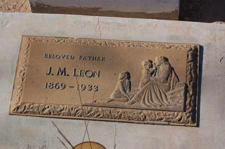 LEON, JESUS MARIA - Yuma County, Arizona   JESUS MARIA LEON - Arizona Gravestone Photos