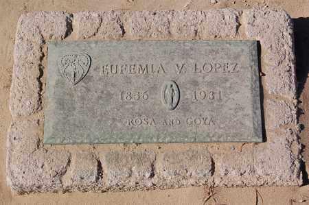 LOPEZ, EUFEMIA - Yuma County, Arizona   EUFEMIA LOPEZ - Arizona Gravestone Photos