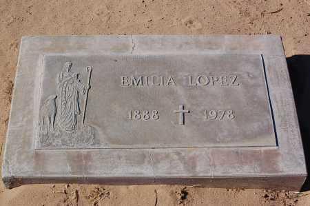 LOPEZ, EMILIA - Yuma County, Arizona | EMILIA LOPEZ - Arizona Gravestone Photos