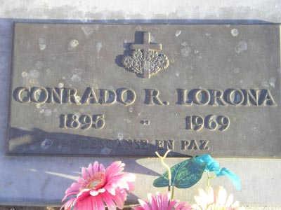 LORONA, CONRADO R - Yuma County, Arizona | CONRADO R LORONA - Arizona Gravestone Photos