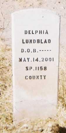 LUNDBLAD, DELPHIA - Yuma County, Arizona | DELPHIA LUNDBLAD - Arizona Gravestone Photos