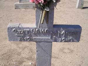 M GAR, JUANA M - Yuma County, Arizona | JUANA M M GAR - Arizona Gravestone Photos