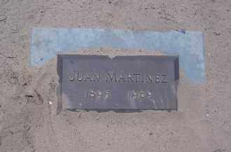 MARTINEZ, JUAN - Yuma County, Arizona | JUAN MARTINEZ - Arizona Gravestone Photos