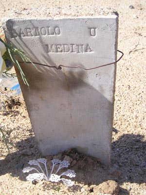 MEDINA, BARTOLO  U. - Yuma County, Arizona | BARTOLO  U. MEDINA - Arizona Gravestone Photos