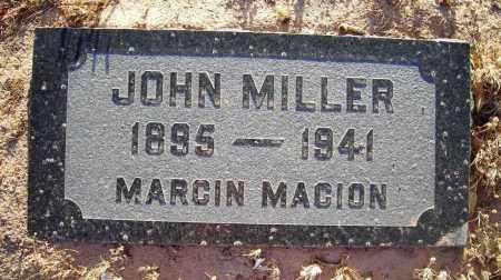 MILLER, JOHN - Yuma County, Arizona   JOHN MILLER - Arizona Gravestone Photos