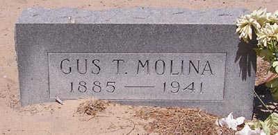 MOLINA, GUS T. - Yuma County, Arizona | GUS T. MOLINA - Arizona Gravestone Photos