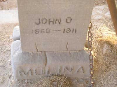 MOLINA, JOHN O. - Yuma County, Arizona   JOHN O. MOLINA - Arizona Gravestone Photos