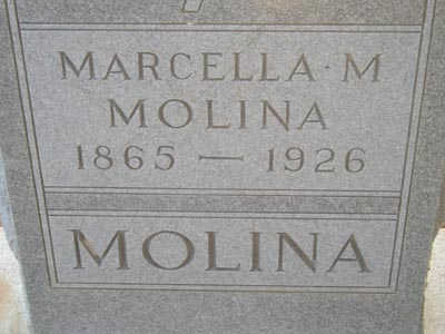 MOLINA, MARCELLA M. - Yuma County, Arizona | MARCELLA M. MOLINA - Arizona Gravestone Photos