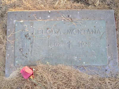MONTANA, ELOISA - Yuma County, Arizona | ELOISA MONTANA - Arizona Gravestone Photos